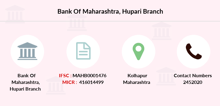 Bank-of-maharashtra Hupari branch