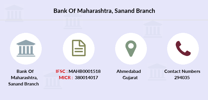 Bank-of-maharashtra Sanand branch