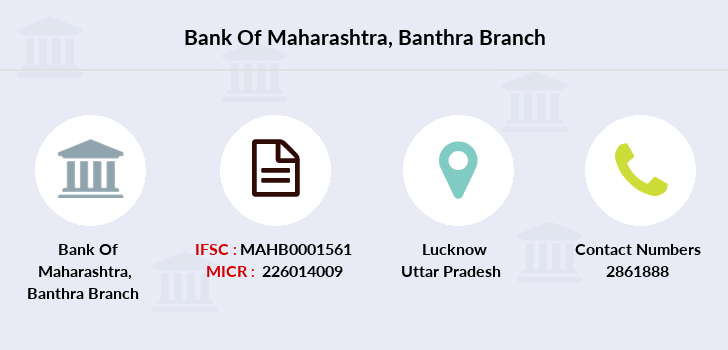Bank-of-maharashtra Banthra branch