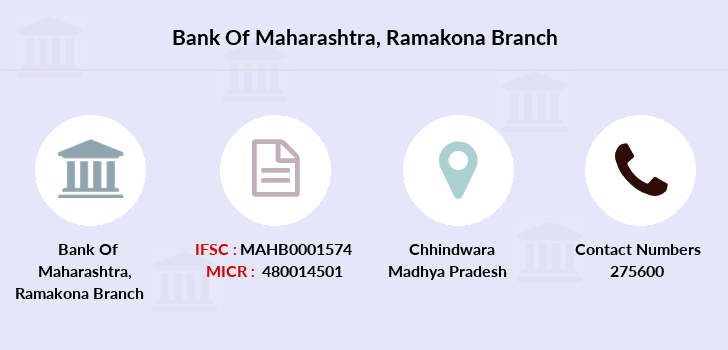 Bank-of-maharashtra Ramakona branch