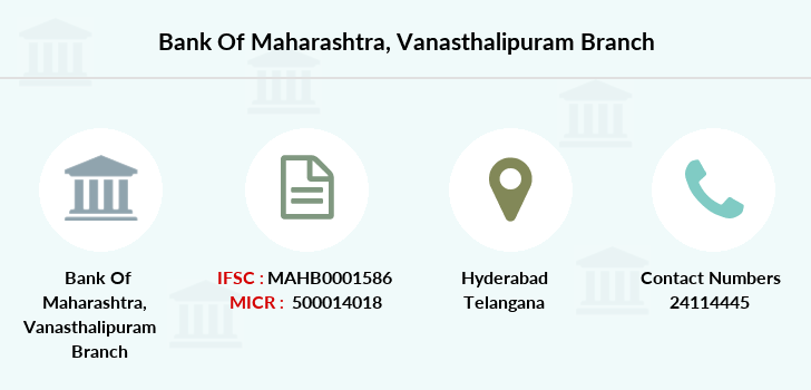 Bank-of-maharashtra Vanasthalipuram branch