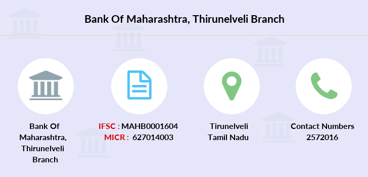Bank-of-maharashtra Thirunelveli branch