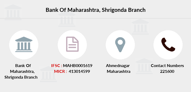 Bank-of-maharashtra Shrigonda branch