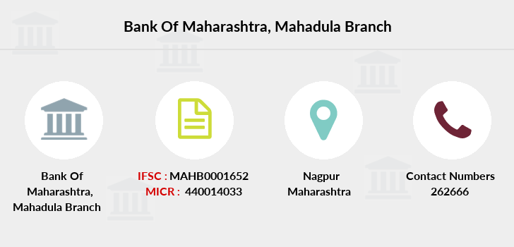 Bank-of-maharashtra Mahadula branch