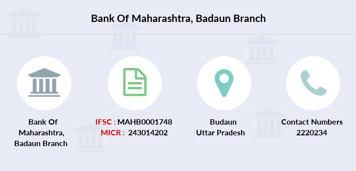 Bank-of-maharashtra Badaun branch