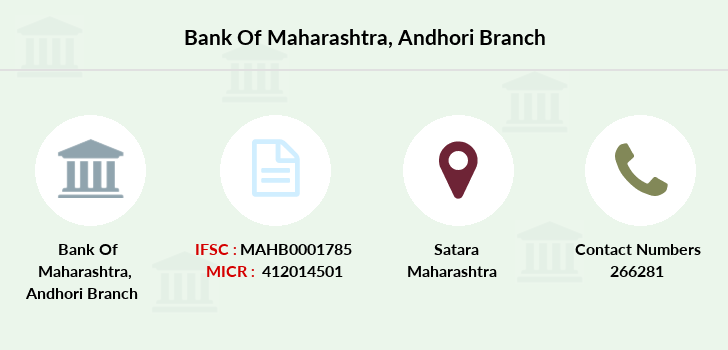 Bank-of-maharashtra Andhori branch