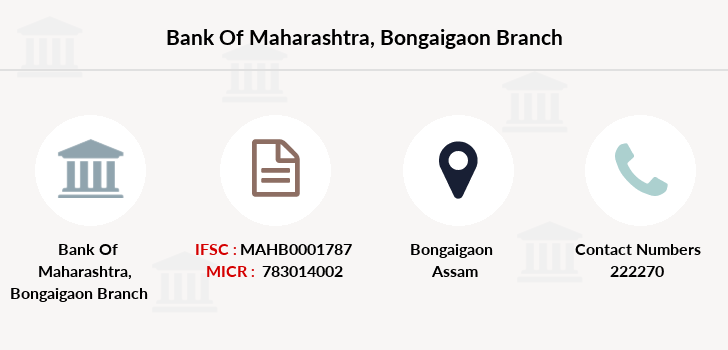Bank-of-maharashtra Bongaigaon branch
