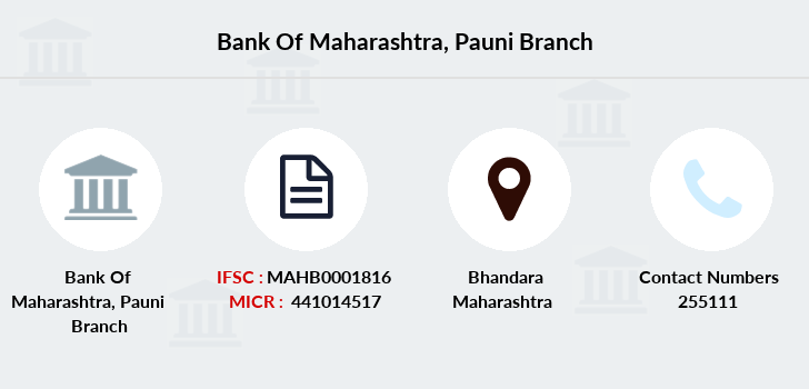 Bank-of-maharashtra Pauni branch