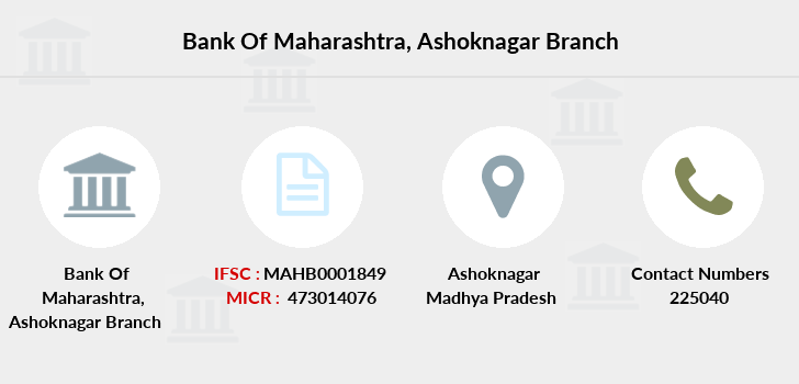 Bank-of-maharashtra Ashoknagar branch