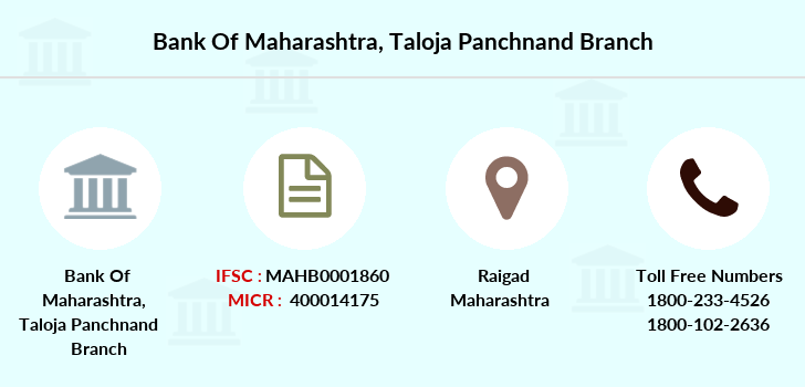 Bank-of-maharashtra Taloja-panchnand branch