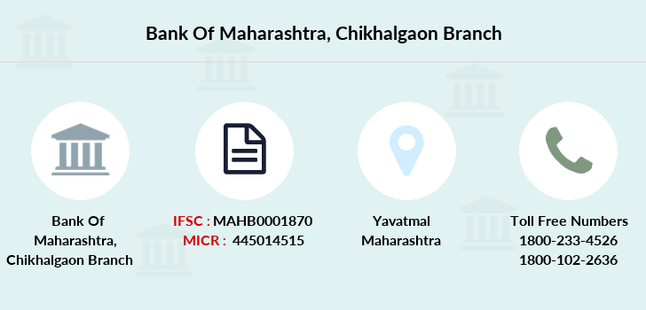 Bank-of-maharashtra Chikhalgaon branch
