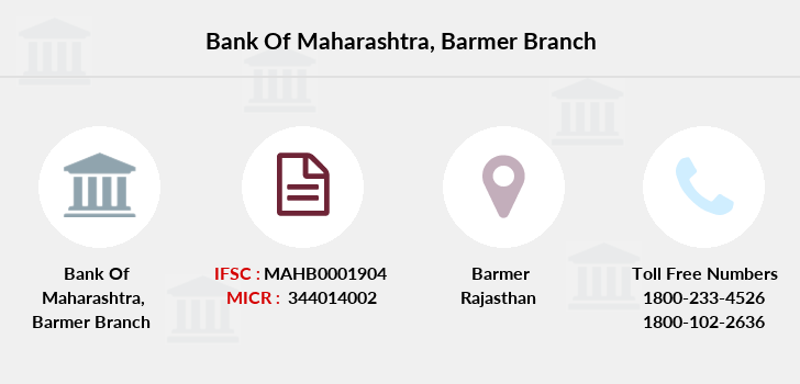 Bank-of-maharashtra Barmer branch