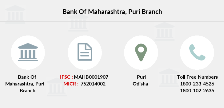 Bank-of-maharashtra Puri branch