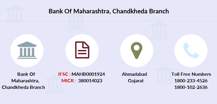 Bank-of-maharashtra Chandkheda branch