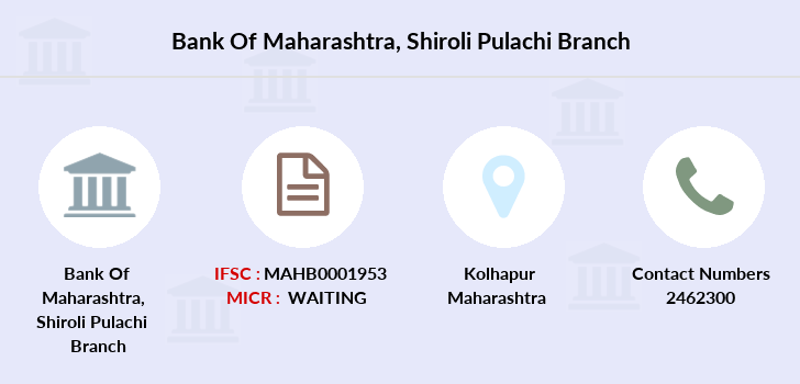 Bank-of-maharashtra Shiroli-pulachi branch