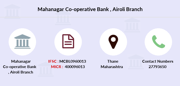 Mahanagar-co-op-bank Airoli branch