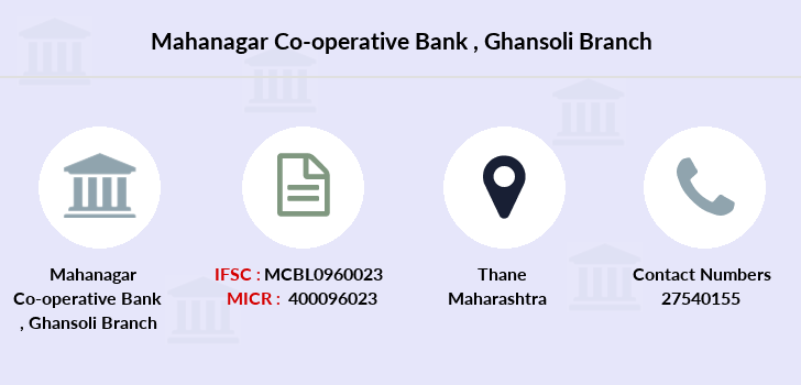 Mahanagar-co-op-bank Ghansoli branch