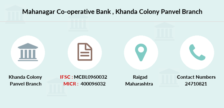 Mahanagar-co-op-bank Khanda-colony-panvel branch