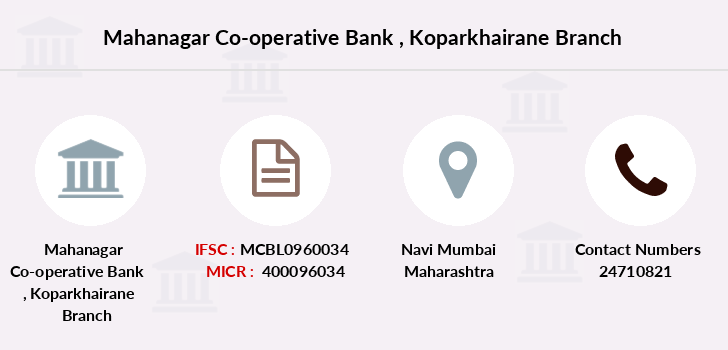 Mahanagar-co-op-bank Koparkhairane branch