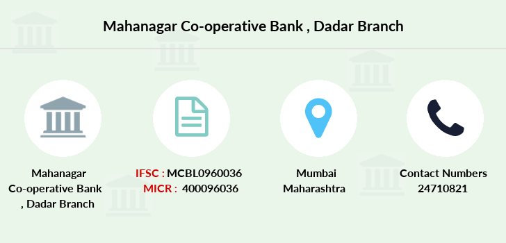 Mahanagar-co-op-bank Dadar branch