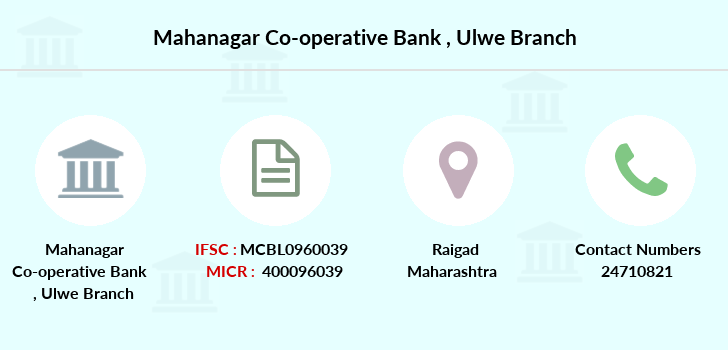 Mahanagar-co-op-bank Ulwe branch