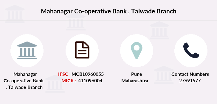 Mahanagar-co-op-bank Talwade branch