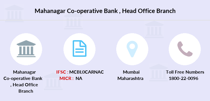 Mahanagar-co-op-bank Head-office branch