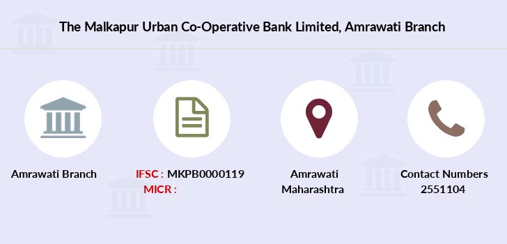 The-malkapur-urban-co-operative-bank-limited Amrawati branch