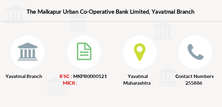 The-malkapur-urban-co-operative-bank-limited Yavatmal branch