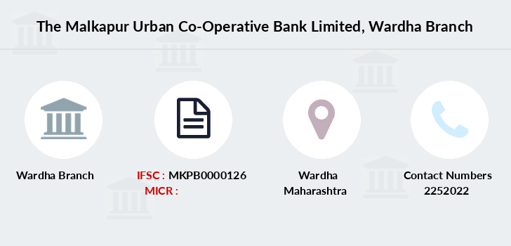 The-malkapur-urban-co-operative-bank-limited Wardha branch