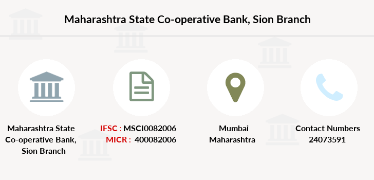 Maharashtra-state-co-op-bank Sion branch