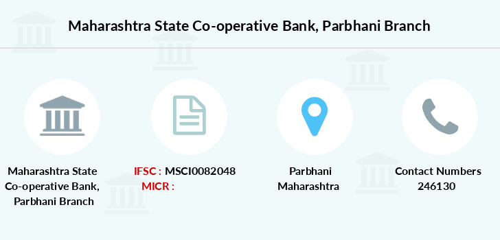 Maharashtra-state-co-op-bank Parbhani branch