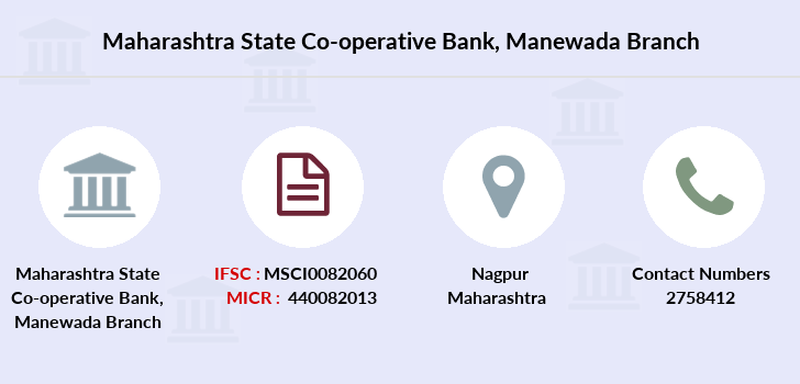 Maharashtra-state-co-op-bank Manewada branch