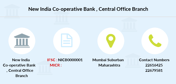 New-india-co-op-bank Rtgs-ho branch