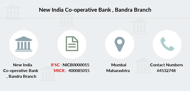 New-india-co-op-bank Bandra branch