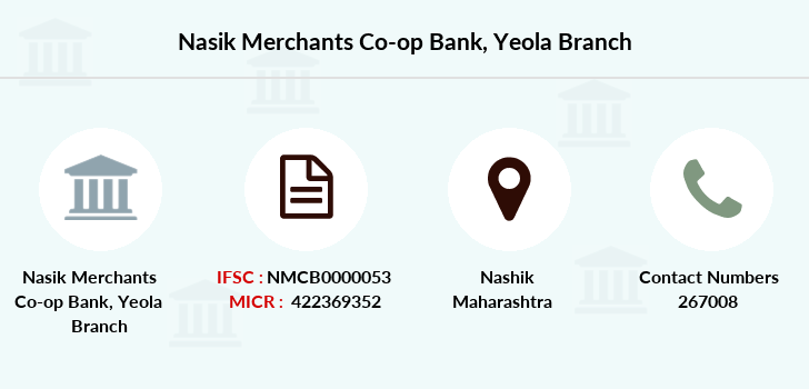 Nasik-merchants-co-op-bank Yeola branch