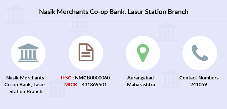Nasik-merchants-co-op-bank Lasur-station branch