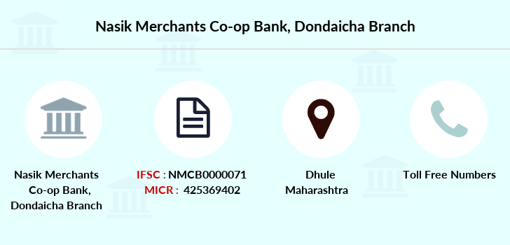 Nasik-merchants-co-op-bank Dondaicha branch