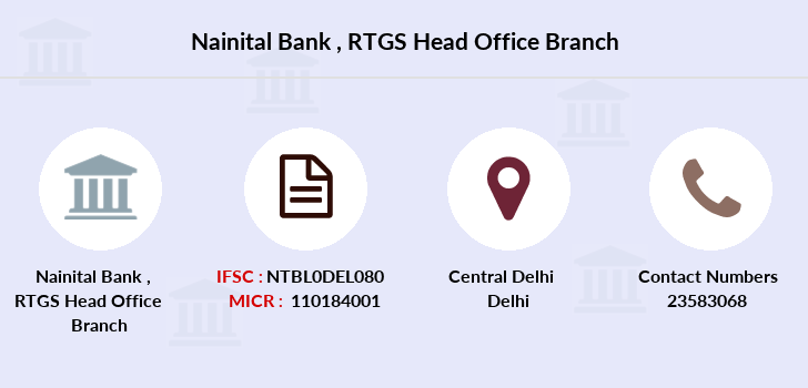 Nainital-bank Rtgs-head-office branch