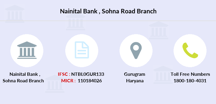 Nainital-bank Sohna-road branch