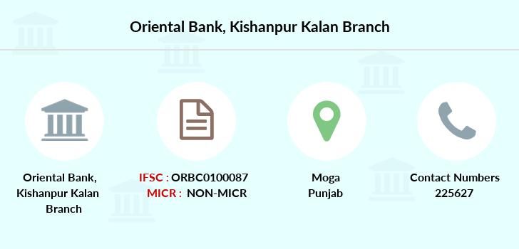 Oriental-bank-of-commerce Kishanpur-kalan branch