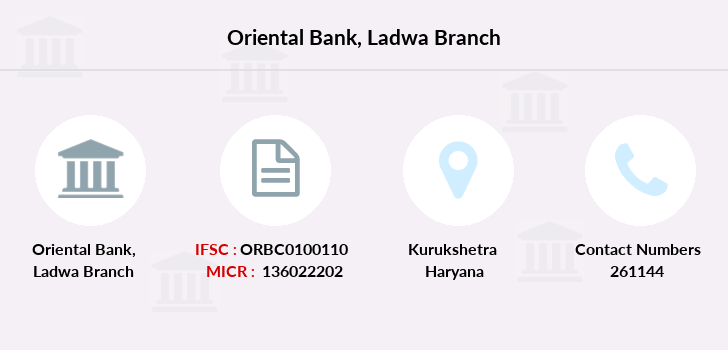 Oriental-bank-of-commerce Ladwa branch