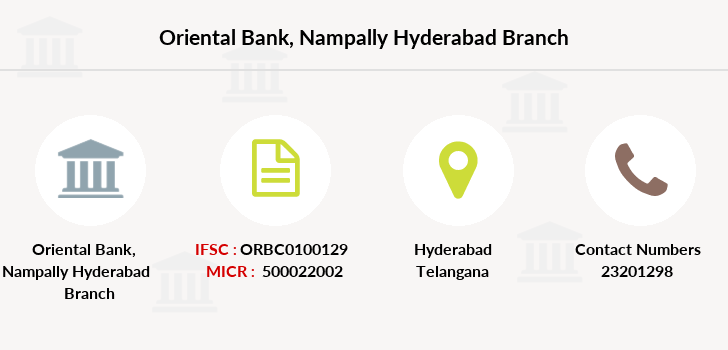 Oriental-bank-of-commerce Nampally-hyderabad branch