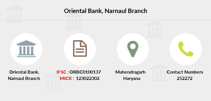 Oriental-bank-of-commerce Narnaul branch