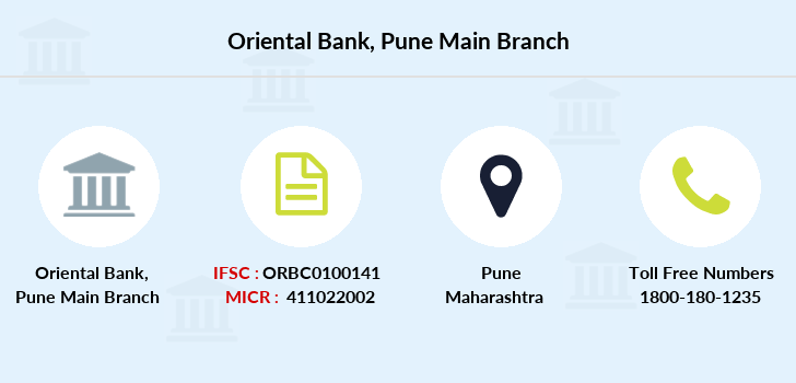 Oriental-bank-of-commerce Pune-main branch