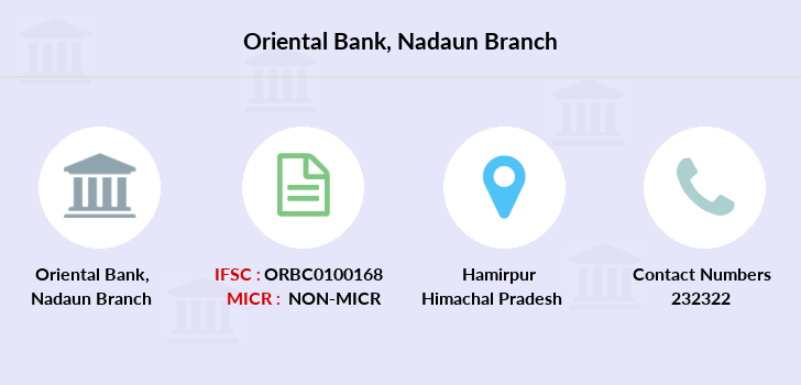 Oriental-bank-of-commerce Nadaun branch