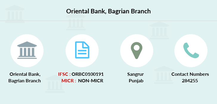 Oriental-bank-of-commerce Bagrian branch
