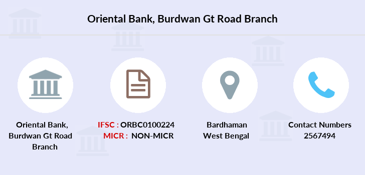 Oriental-bank-of-commerce Burdwan-gt-road branch