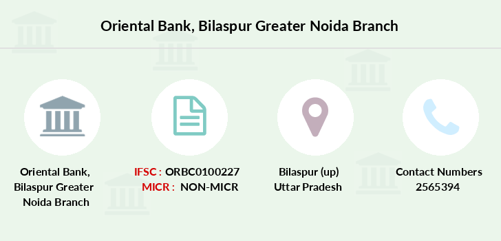 Oriental-bank-of-commerce Bilaspur-greater-noida branch