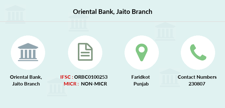 Oriental-bank-of-commerce Jaito branch